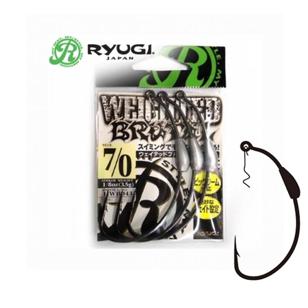 Ryugi HWB043 Weighted Pierce Black Nickel İğne No:7 (3 Adet)