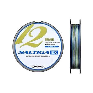 Daiwa Saltiga 12 Braid 300m Multicolor İp Misina