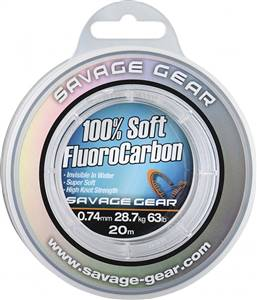 Savage gear Soft Fluoro Carbon 35m Leader Misina