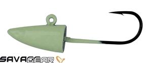 Savage gear LRF Micro Sandeel Glow Jig Head
