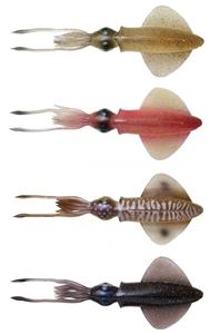 Savage gear Swim Squid 9,5cm 5gr 4 Adet Suni Yem