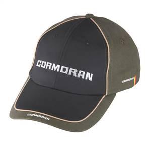 Cormoran 11012 Şapka Haki-Siyah