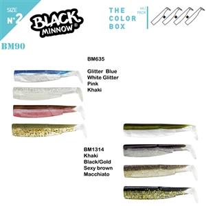 Fiiish BM90/2 4X Color Box Silikon Yem