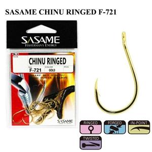 Sasame Chinu Ringed F-721 Gold İğne