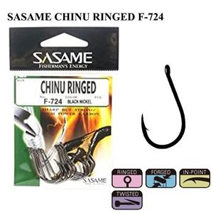 Sasame Chinu Ringed F-724 Black Nickel İğne
