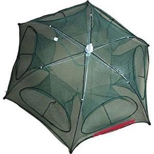 Fishika Şemsiye Model 6 Göz Pinter Balık Tuzağı