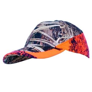 Remixon Turuncu Sazlık Desenli Şapka