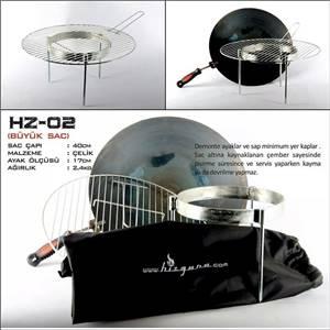 Hızgara HZ-02 Büyük Kamp Sacı