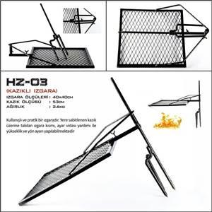 Hızgara HZ-03 Kazıklı Izgara