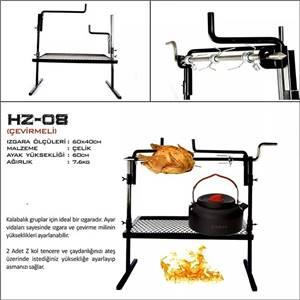 Hızgara HZ-08 Çevirmeli Izgara