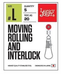 Lucky John Klips 5105 Gözlü Fırdöndülü Klips